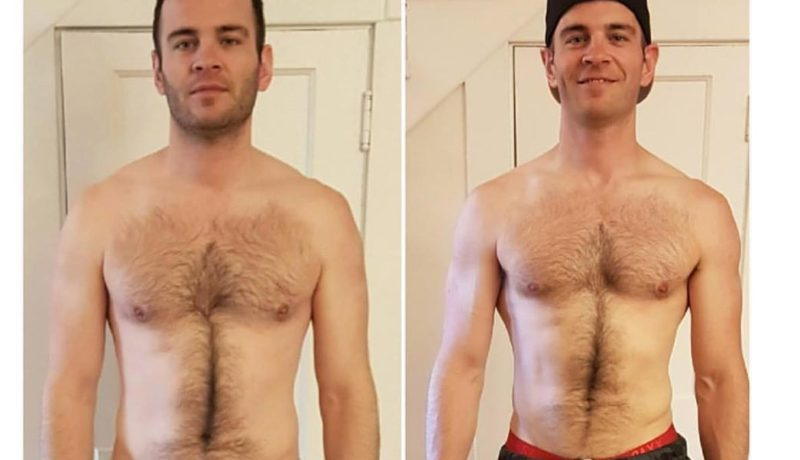 Before After Photo Of NYNY Transformation Winner
