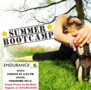 Summer Outdoor Boot Camp Poster