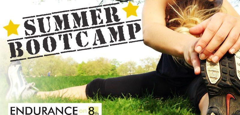 Summer Outdoor Boot Camp Poster
