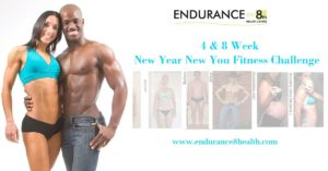 New Year New You Fitness Challenge Poster