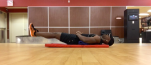 Modified Reverse Crunch For Abdominals Photo