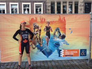 Triathlon testimonial photo 1