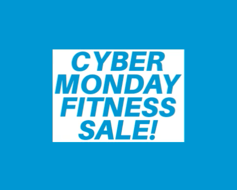 Cyber Monday Fitness Sale Promo Pic