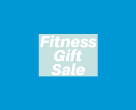 Fitness Gift Sale Poster