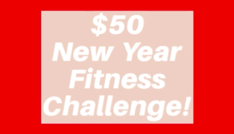 New Year Fitness Sale Photo