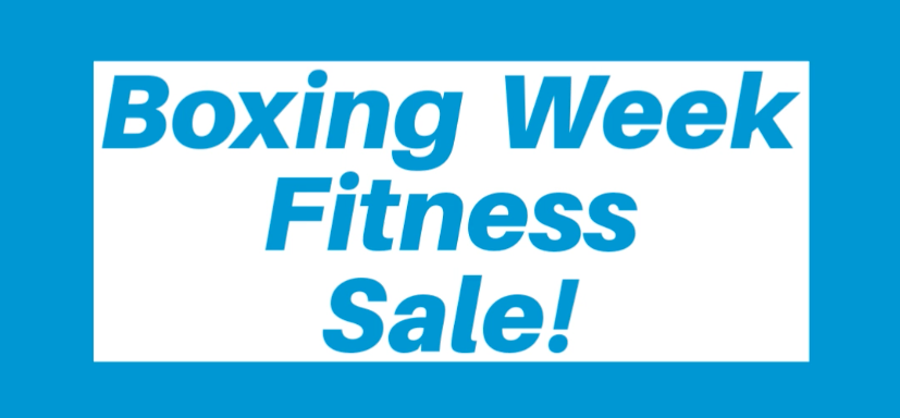 Boxing Week Fitness Sale Poster