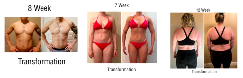 Fitness Sale Transformation Photos