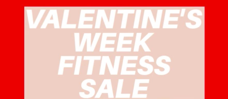 Valentine's Week Sale Poster