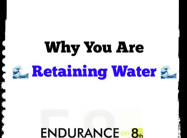 Why you are retaining water cover photo