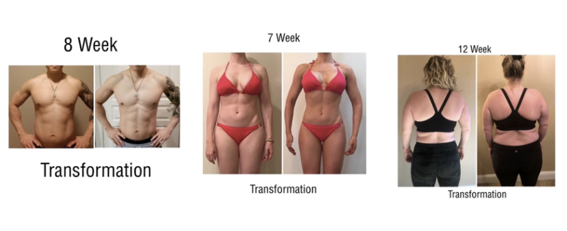 Summer Fall fitness transformation photos