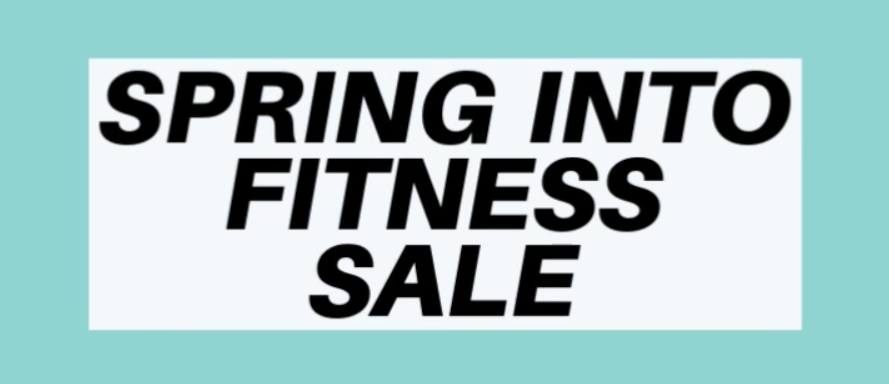 Spring Fitness Sale Poster
