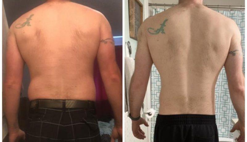 Successful Transformation Back Photo